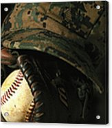 A Marines Athletic Gear Acrylic Print by Stocktrek Images