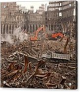 A Month After The Terrorist Attacks Acrylic Print by Everett