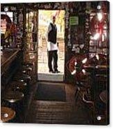 A Portrait Of A Bartender Acrylic Print by Hiroko Sakai