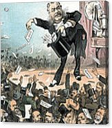 A Presidential Conjuror. Chester Acrylic Print by Everett