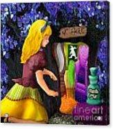 A Room In Wonderland  Acrylic Print by Lois Mountz