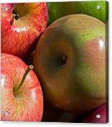 A Variety Of Apples Acrylic Print by Heidi Smith