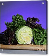 A Variety Of Lettuce Acrylic Print by Photo Researchers, Inc.