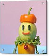 A Vegetable Doll Acrylic Print by Yagi Studio
