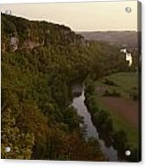 A View Of The Vezere River Valley Acrylic Print by Kenneth Garrett