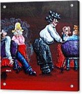 A Waiter's Revenge - Silent But Deadly Acrylic Print by Alison  Galvan