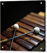 A Xylophone Acrylic Print by Studio Blond