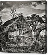 Abandoned Barn 2 Acrylic Print by Brenda Bryant