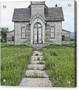 Abandoned Countryside Church Acrylic Print by Dave & Les Jacobs