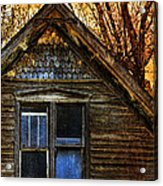 Abandoned Old House Acrylic Print by Jill Battaglia