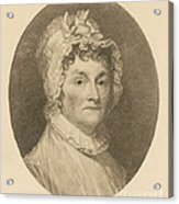 Abigail Adams Acrylic Print by Photo Researchers