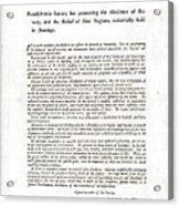 Abolitionist Address By Benjamin Acrylic Print by Everett