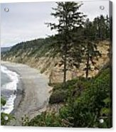 Above Agate Beach Acrylic Print by Michael Picco