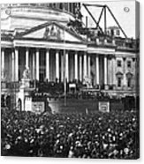 Abraham Lincolns First Inauguration - March 4 1861 Acrylic Print by International  Images