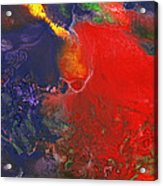Abstract - Crayon - Andromeda Acrylic Print by Mike Savad