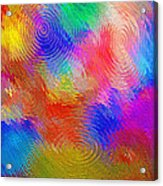Abstract - Ripples Acrylic Print by Steve Ohlsen
