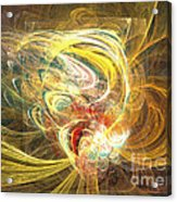 Abstract Art - In Full Bloom Acrylic Print by Abstract art prints by Sipo