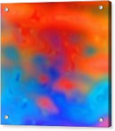Abstract Artwork Acrylic Print by Victor De Schwanberg