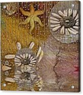 After The Rain Under The Star Acrylic Print by Pepita Selles