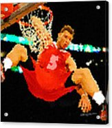 After The Slam Dunk Acrylic Print by Anthony Caruso
