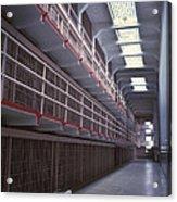 Alcatraz Cell Block Acrylic Print by Paul W Faust -  Impressions of Light