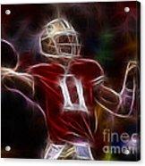 Alex Smith - 49ers Quarterback Acrylic Print by Paul Ward