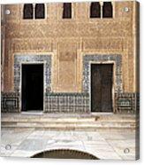 Alhambra Inner Courtyard Acrylic Print by Jane Rix