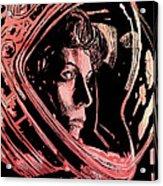 Alien Sigourney Weaver Acrylic Print by Giuseppe Cristiano