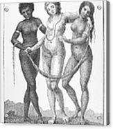 Allegory: Slave Trade, 1796 Acrylic Print by Granger