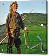 Along The Viking Trail Acrylic Print by Tony Beck