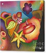 Altar Of Womanly Wisdom Acrylic Print by Mucha Kachidza