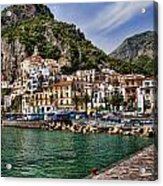 Amalfi Acrylic Print by David Smith