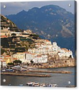 Amalfi Acrylic Print by Bill Cannon