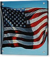 America The Beautiful Acrylic Print by Daniel W Green