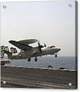 An E-2c Hawkeye Takes Acrylic Print by Stocktrek Images