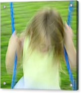 Angel Swing Acrylic Print by Aimelle