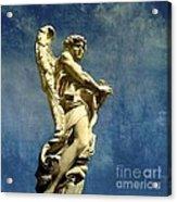 Angelo Acrylic Print by Bernard Jaubert