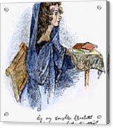 Ann Bronte (1820-1849) Acrylic Print by Granger