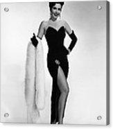 Ann Miller, Ca. 1950s Acrylic Print by Everett