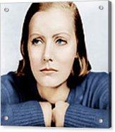 Anna Christie, Greta Garbo, Portrait Acrylic Print by Everett