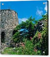 Annaberg Ruins Acrylic Print by Kathy Yates