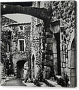 Another Residence In Childhood Alba France Ardeche Acrylic Print by Colette V Hera  Guggenheim
