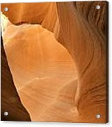 Antelope Canyon - Another World Acrylic Print by Christine Till