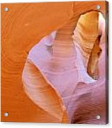 Antelope Canyon - Magnificent Play Of Light And Color Acrylic Print by Christine Till