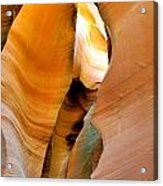 Antelope Canyon - Nature's Extravaganza Acrylic Print by Christine Till