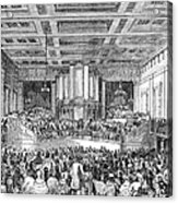Anti-slavery Meeting, 1842 Acrylic Print by Granger