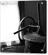 Antique Washing Machine Acrylic Print by Scott Hovind