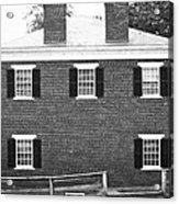 Appomattox Courthouse Acrylic Print by Teresa Mucha