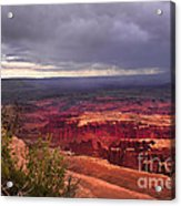 Approaching Storm  Acrylic Print by Robert Bales