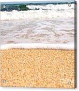 Approaching Wave Acrylic Print by Hideaki Sakurai